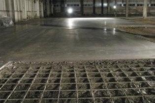 Нанесения и уплотнение бетона