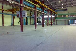 В производственных помещениях